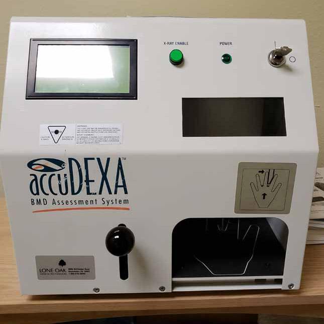 image of Dexa scanner